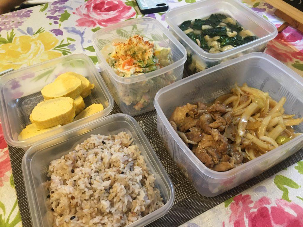 料理教室マンツーマン生姜焼きセット