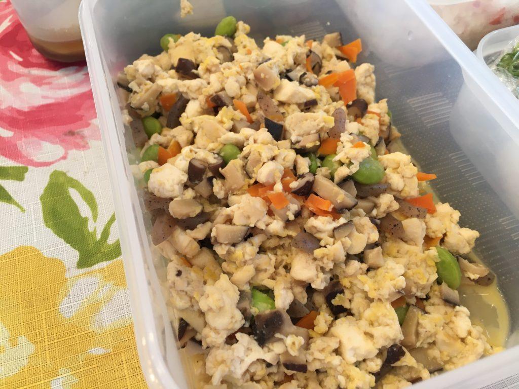 料理教室マンツーマン煎り豆腐
