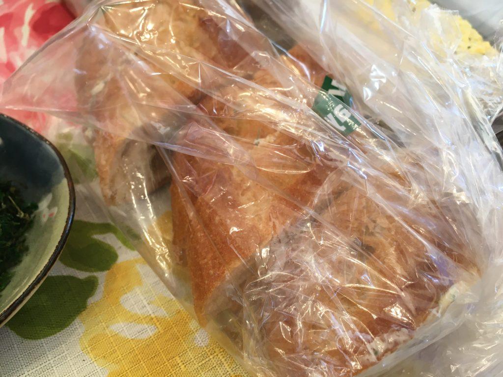 料理教室マンツーマンガーリックトースト