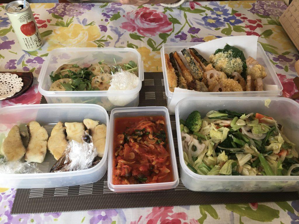 料理教室マンツーマン野菜炒めセット