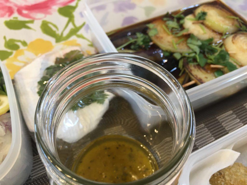 料理教室マンツーマンカルパッチョソース