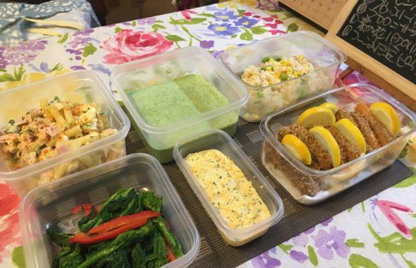 料理教室マンツーマン鮭フライセット