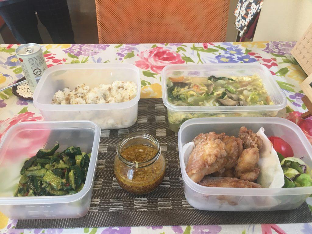 料理教室マンツーマン油淋鶏セット