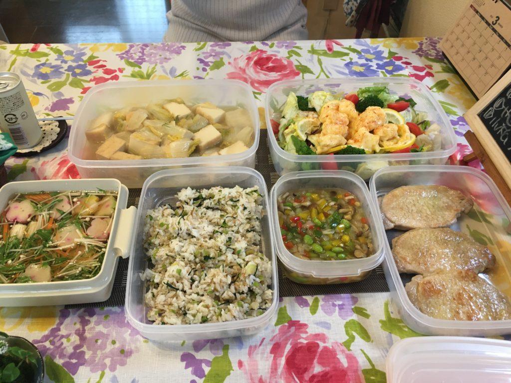 料理教室マンツーマンエビマヨサラダセット