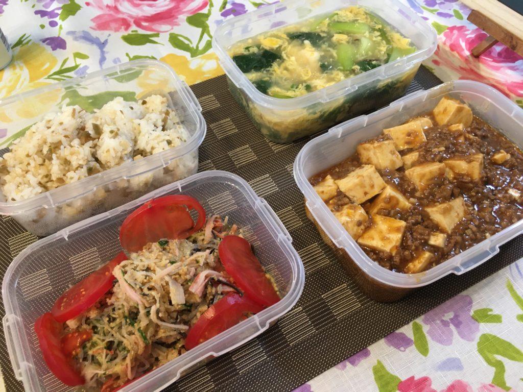 料理教室マンツーマンマーボー豆腐セット