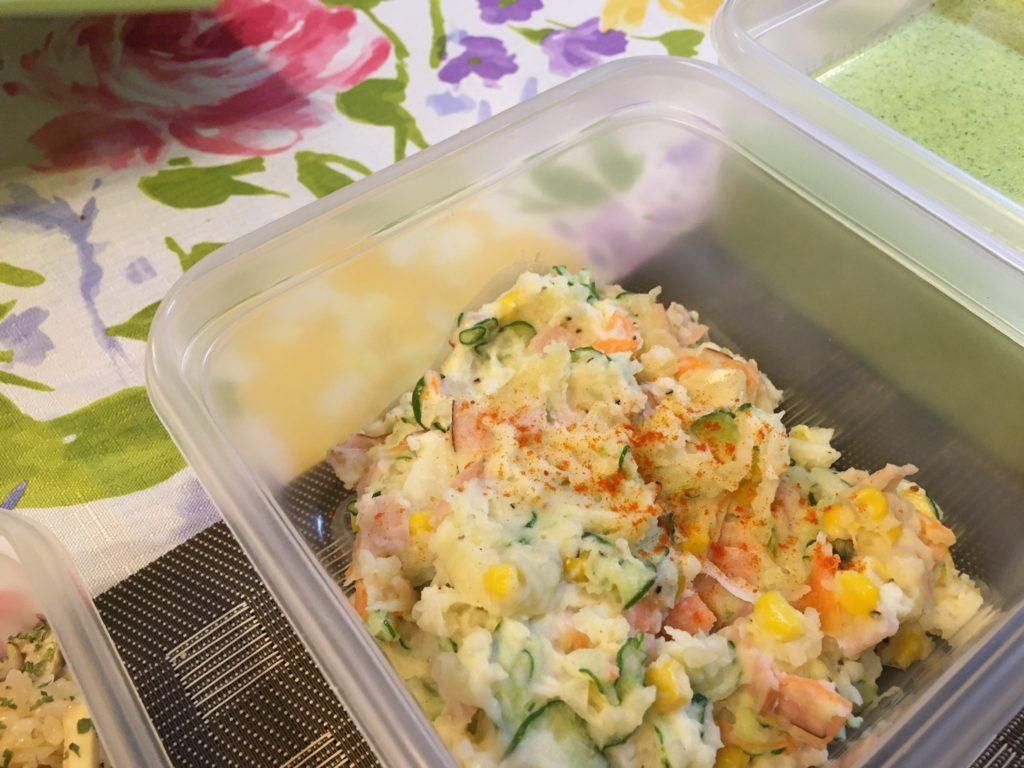 料理教室マンツーマンポテトサラダ