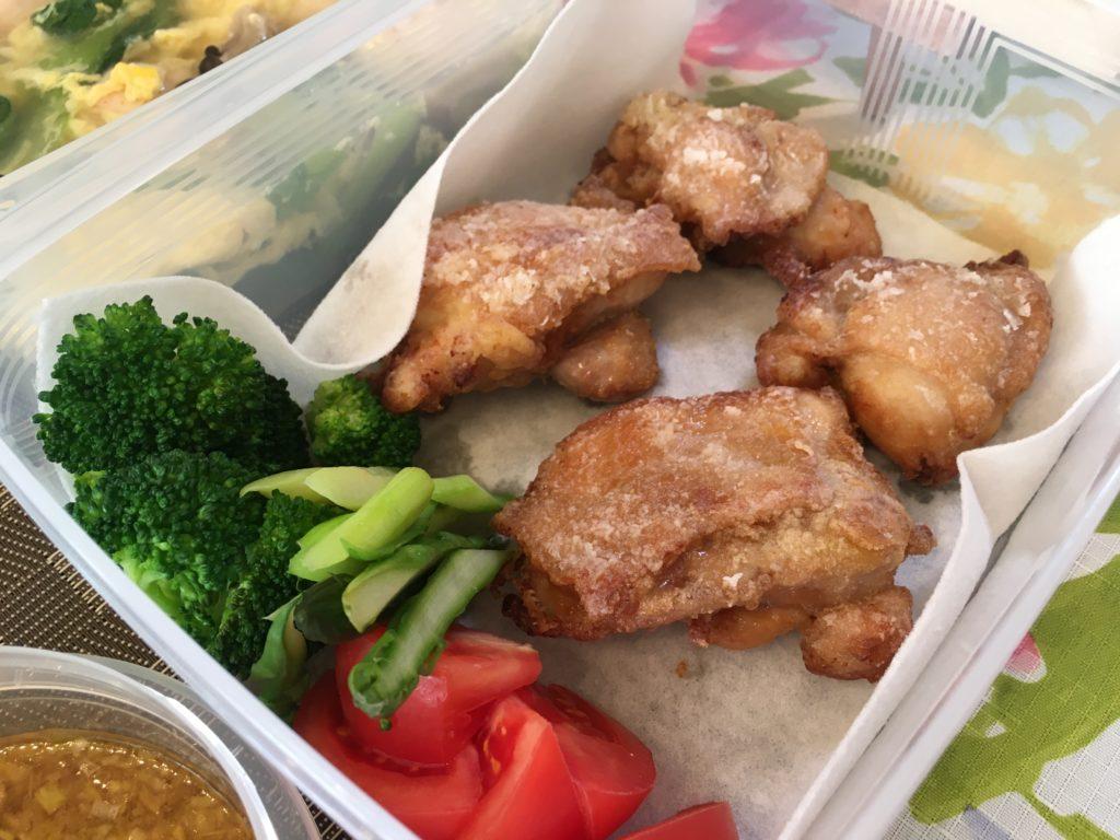 料理教室マンツーマン油淋鶏