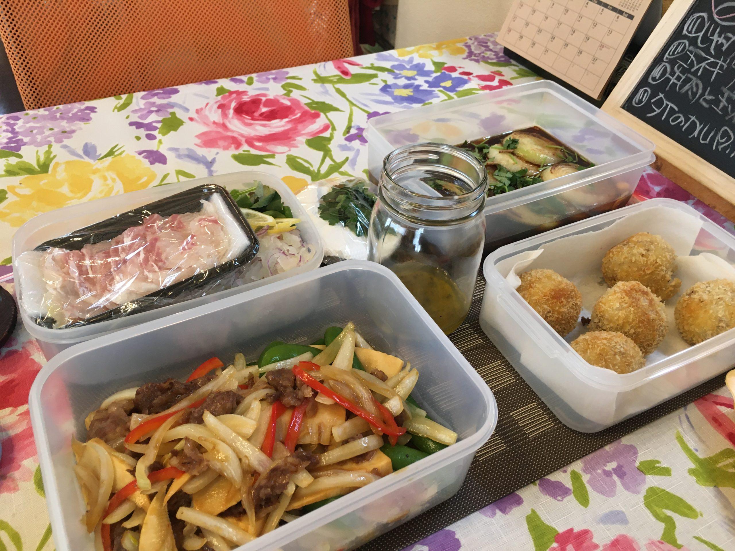 料理教室マンツーマンコロッケセット