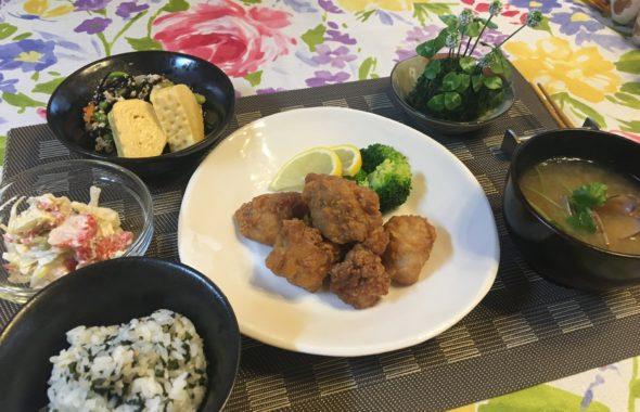 料理教室マンツーマン唐揚げセット