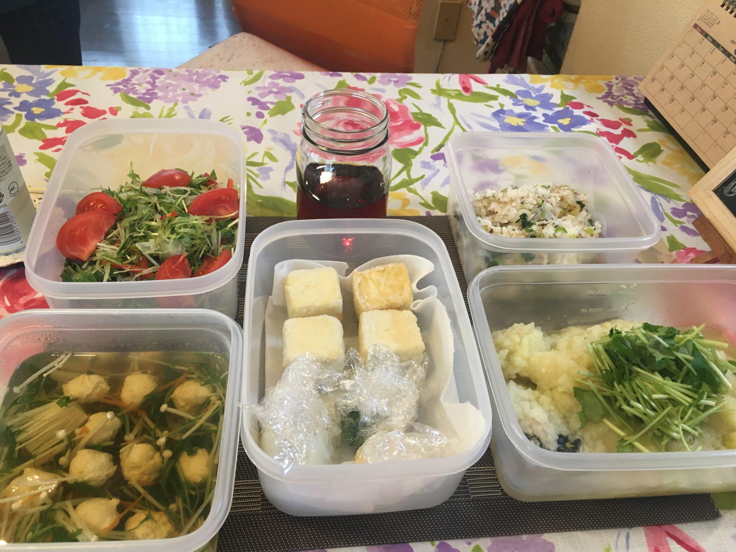 料理教室マンツーマン揚げ出し豆腐セット