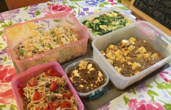 料理教室マンツーマン麻婆豆腐セット