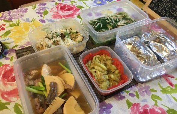 料理教室マンツーマン魚のホイル包み焼セット