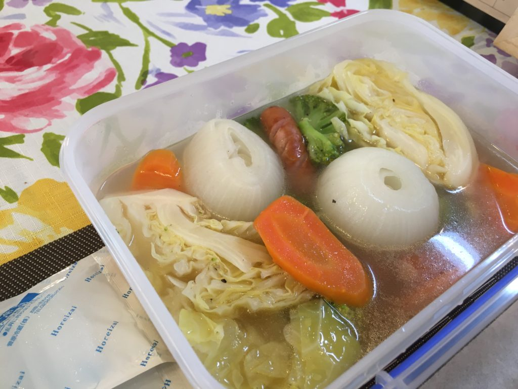 料理教室マンツーマン新玉ポトフ