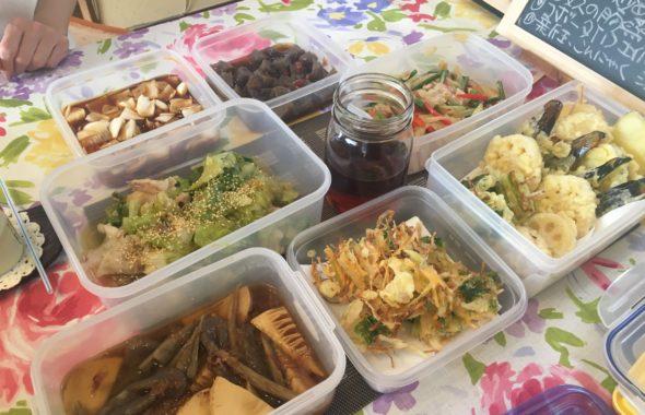 料理教室マンツーマン天麩羅セット