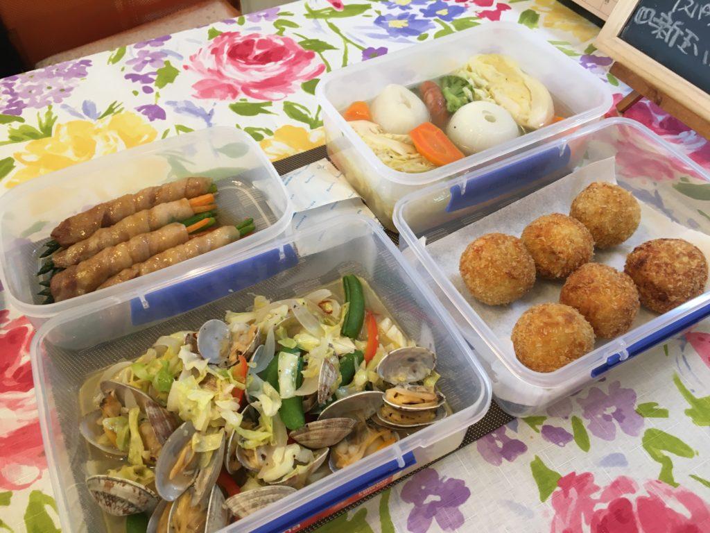料理教室マンツーマン里芋コロッケセット