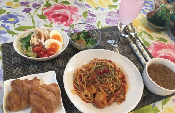 料理教室マンツーマン辛いトマトパスタセット
