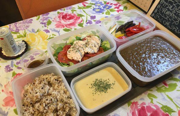 料理教室マンツーマンキーマカレーセット