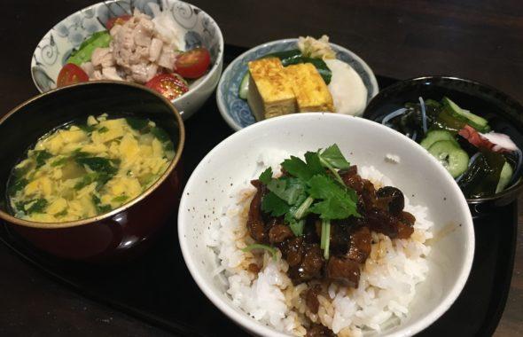 料理教室マンツーマン鰻丼セット