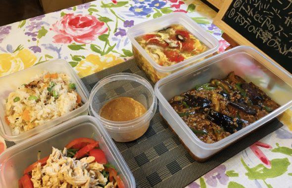料理教室マンツーマン麻婆茄子セット