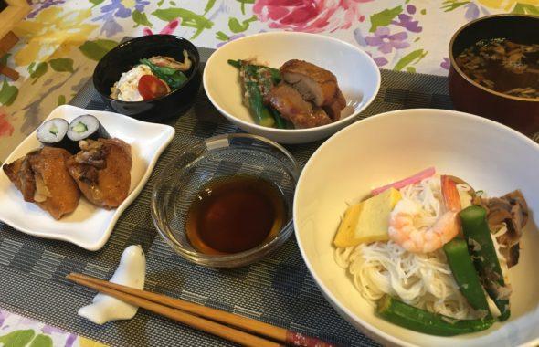 料理教室マンツーマン素麺セット