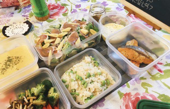 料理教室マンツーマン鮭ムニエルセット