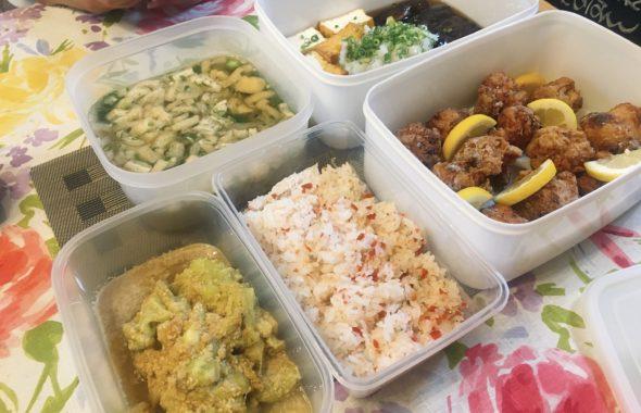 料理教室マンツーマン鶏の唐揚げセット