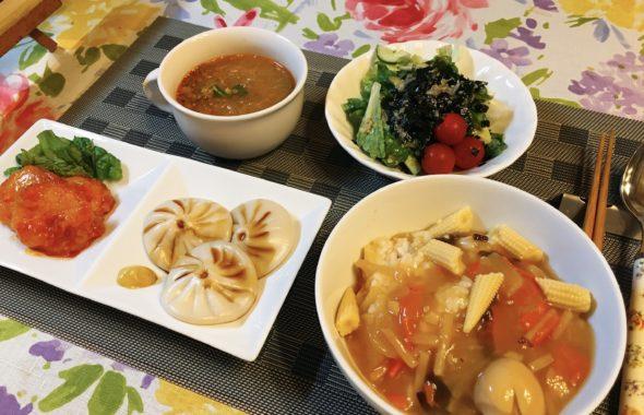 料理教室マンツーマン中華丼セット