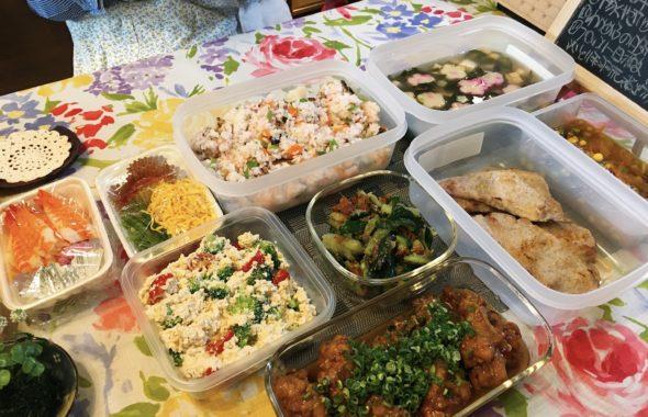 料理教室マンツーマンちらし寿司セット