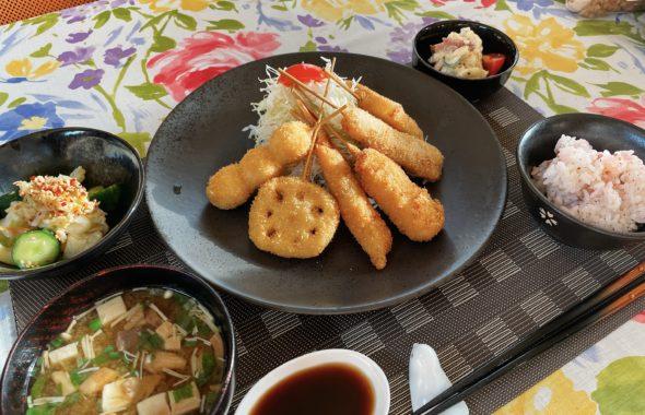 料理教室マンツーマン串カツセット